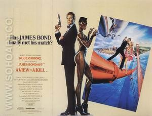 A View To A Kill, 1985 - James-Bond-007-Posters reproduction oil painting