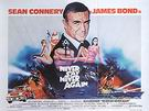 Never Say Never Again, 1984 - James-Bond-007-Posters