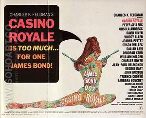 Casino Royale, 1967 - James-Bond-007-Posters reproduction oil painting