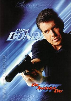 Die Another Day III - James-Bond-007-Posters reproduction oil painting