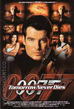 Tomorrow Never Dies - James-Bond-007-Posters reproduction oil painting