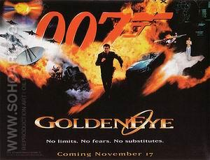 Goldeneye - James-Bond-007-Posters reproduction oil painting