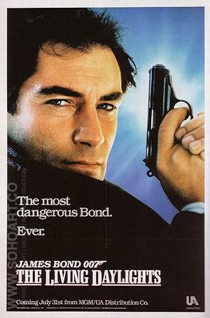 The Living Daylights - James-Bond-007-Posters reproduction oil painting