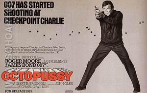 Octopussy II - James-Bond-007-Posters reproduction oil painting