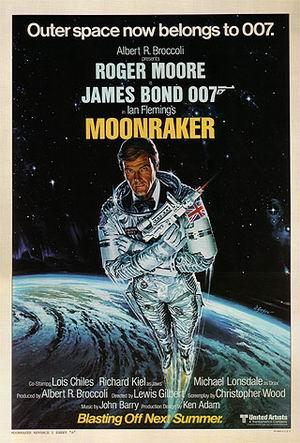 Moonraker IIII - James-Bond-007-Posters reproduction oil painting