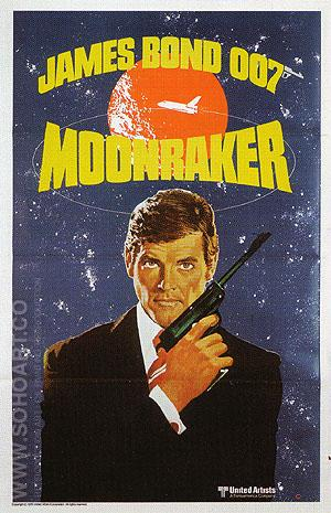 Moonraker III - James-Bond-007-Posters reproduction oil painting