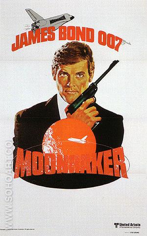 Moonraker II - James-Bond-007-Posters reproduction oil painting