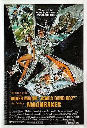 Moonraker - James-Bond-007-Posters reproduction oil painting