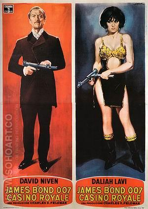 Casino Royale III - James-Bond-007-Posters reproduction oil painting
