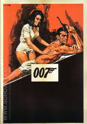 Thunderball III - James-Bond-007-Posters reproduction oil painting