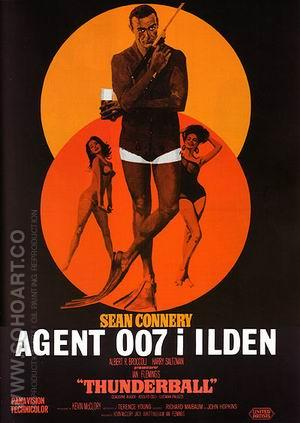 Thunderball II - James-Bond-007-Posters reproduction oil painting