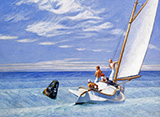 Ground Swell 1939 - Edward Hopper reproduction oil painting