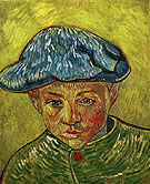 Portrait of Camille Roulin, 1888 - Vincent van Gogh reproduction oil painting