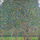 Pear Tree 1903 - Gustav Klimt reproduction oil painting