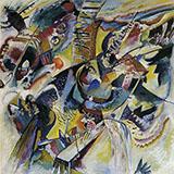 Gorge Improvisation 1914 - Wassily Kandinsky