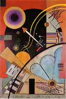 Still Tension 1924 - Wassily Kandinsky reproduction oil painting