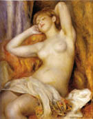The Sleeper 1897 - Pierre Auguste Renoir reproduction oil painting