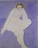 White Nude - Milton Avery reproduction oil painting