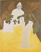 White Vase - Milton Avery reproduction oil painting