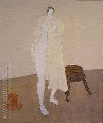 Robed Nude - Milton Avery reproduction oil painting