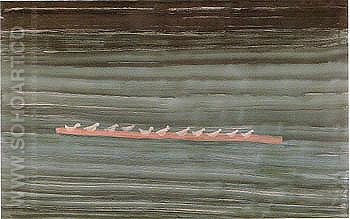 Seabirds on a Sandbar 1960 - Milton Avery reproduction oil painting