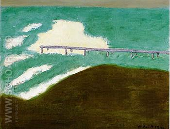 Stormy Day 1959 - Milton Avery reproduction oil painting