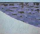 Sea Grasses and Blue Sea - Milton Avery