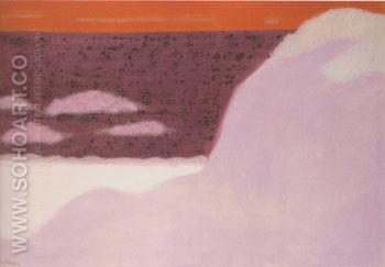 Sea and Sand Dunes - Milton Avery reproduction oil painting