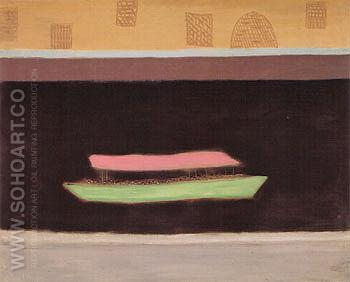 Excursion on the Thames - Milton Avery reproduction oil painting