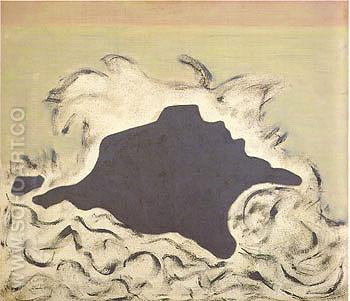 Advancing Sea - Milton Avery reproduction oil painting