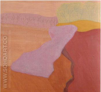 Shapes of Spring - Milton Avery reproduction oil painting