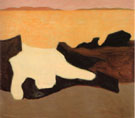 Sunset - Milton Avery reproduction oil painting
