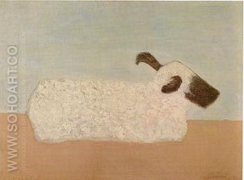 Sheep - Milton Avery reproduction oil painting