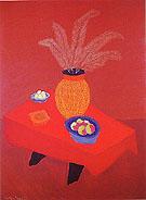 Orange Vase - Milton Avery