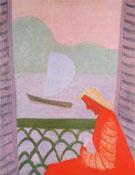 March on the Balcony - Milton Avery