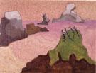 Oregon Coast - Milton Avery reproduction oil painting