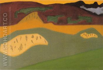 Bow River - Milton Avery reproduction oil painting