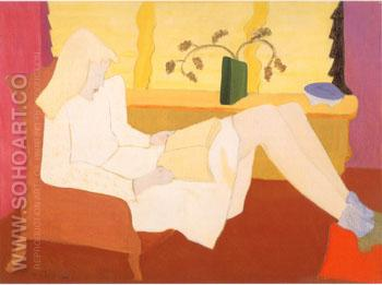 Adolescence - Milton Avery reproduction oil painting