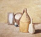 Still Life 1954 - Georgio Morandi