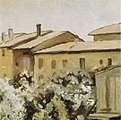 Courtyard at Via Fondazza 1954 - Georgio Morandi