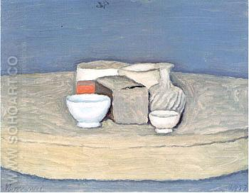 Still Life 1957 1 - Georgio Morandi reproduction oil painting