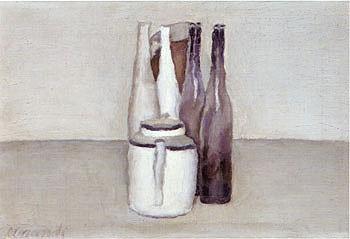 Still Life 1957 2 - Georgio Morandi reproduction oil painting