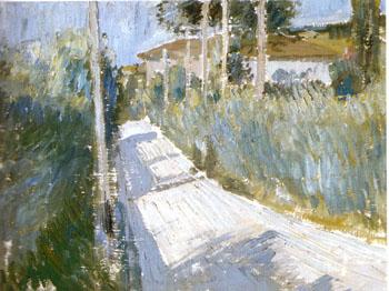 Landscape 1913 - Georgio Morandi reproduction oil painting
