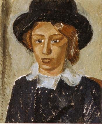 Female Portrait 1912 - Georgio Morandi reproduction oil painting