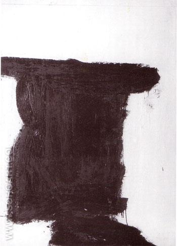 Thorpe 1954 - Franz Kline reproduction oil painting