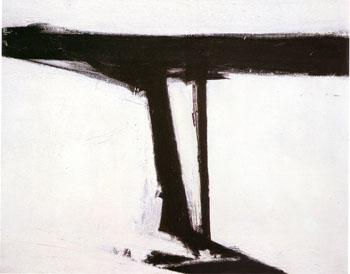 Le Gros 1961 - Franz Kline reproduction oil painting