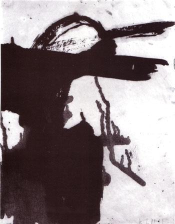 Crow Dancer 1958 - Franz Kline reproduction oil painting