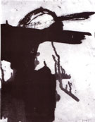 Crow Dancer 1958 - Franz Kline reproduction oil painting