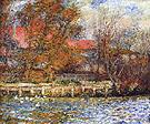 Duck Pond 1873 - Pierre Auguste Renoir