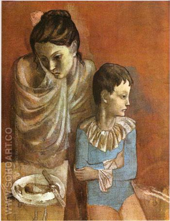 Mother and Child 1905 - Pablo Picasso reproduction oil painting